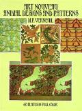 Art Nouveau Animal Designs & Patterns 60 Plates in Full Color
