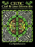Celtic Cut & Use Stencils 61 Full Size Stencils Printed on Durable Stencil Paper
