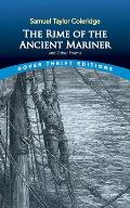 The Rime of the Ancient Mariner (Dover Thrift Editions) Cover