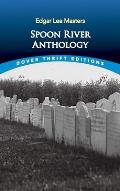 Spoon River Anthology (Dover Thrift Editions) Cover