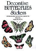 Decorative Butterflies Stickers: 29 Pressure-Sensitive Designs (Pocket-Size Sticker Collections)