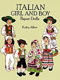 Italian Girl and Boy Paper Dolls in Full Color