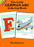 The Little German ABC Coloring Book