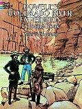 Powells Colorado River Expedition Coloring Book