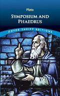 Symposium and Phaedrus (Dover Thrift Editions) Cover