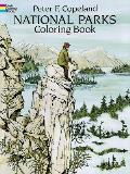 National Parks Coloring Book Cover