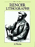 Renoir Lithographs: 32 Works (Dover Art Library)