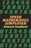 Speed Mathematics Simplified (Dover Science Books) Cover
