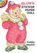 Clown Sticker Paper Doll