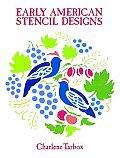 Early American Stencil Designs Dover Pi