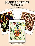 Museum Quilts Postcards 24 Full Color Cards