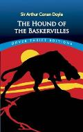 The Hound of the Baskervilles (Dover Thrift Editions) Cover
