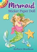 Mermaid Sticker Paper Doll