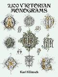 2,100 Victorian Monograms (Dover Pictorial Archives)