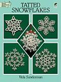 Tatted Snowflakes (Dover Needlework) Cover