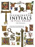 Illuminated Initials in Full Color: 548 Designs (Dover Pictorial Archives)