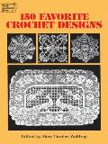 150 Favorite Crochet Designs (Dover Needlework) Cover