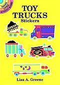 Toy Trucks Stickers