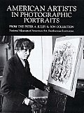 American Artists in Photographic Portraits (Dover Pictorial Archives)