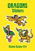 Dragons Stickers (Pocket-Size Sticker Collections)