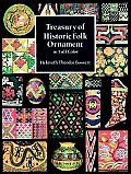 Treasury of Historic Folk Ornament in Full Color