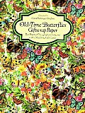 Old Time Butterflies Giftwrap Paper