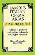 Famous Italian Operas A Dual Language Book