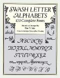 Swash Letter Alphabets: 100 Complete Fonts (Dover Pictorial Archives)