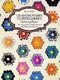 Grandmother's Flower Garden Giftwrap Paper (Giftwrap--2 Sheets, 1 Designs)