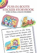 Make Your Own Puss-In-Boots Sticker Storybook (Dover Little Activity Books)