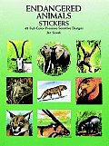 Endangered Animals Stickers 48 Full Colo