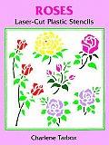Roses Laser-Cut Plastic Stencils