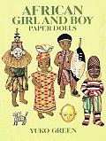 African Girl & Boy Paper Dolls