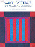 Amish Patterns for Machine Quilting (Dover Needlework) Cover
