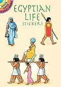 Egyptian Life Stickers (Dover Little Activity Books)