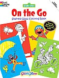 Sesame Street on the Go Gemglow Stained Glass Coloring Book (Sesame Street)