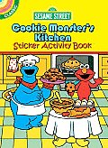 Sesame Street Classic Cookie Monster's Kitchen Sticker Activity Book (Sesame Street)