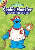 Sesame Street Cookie Monster Sticker Paper Doll (Sesame Street) Cover