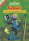 Sesame Street Grover Sticker Paper Doll (Dover Little Activity Books)