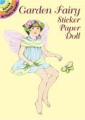 Garden Fairy Sticker Paper Doll