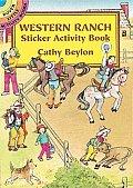 Western Ranch Sticker Activity Book