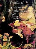 Beethoven Symphonies Nos 1 5 Transcribed for Solo Piano