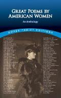 Great Poems by American Women: An Anthology (Dover Thrift Editions) Cover