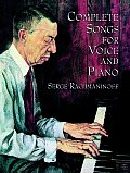 Complete Songs For Voice & Piano