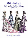 80 Godeys Full Color Fashion Plates 1838 1880