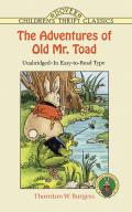Adventures Of Old Mr Toad