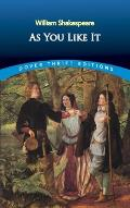 As You Like It (Dover Thrift Editions) Cover