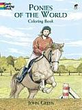 Ponies of the World Coloring Book