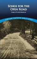 Songs for the Open Road: Poems of Travel and Adventure (Dover Thrift Editions) Cover