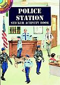 Police Station Sticker Activity Book (Dover Little Activity Books)